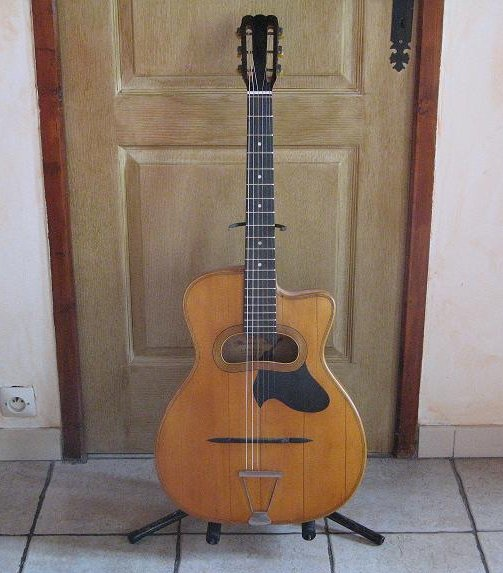 guitare manouche l. patenotte